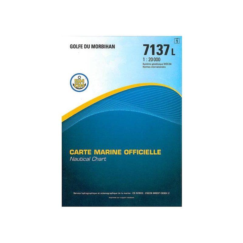 Marine chart 7137L : Gulf of Morbihan | Picksea