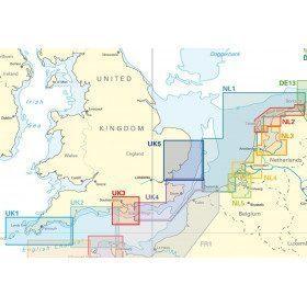 Carte NV-Charts Manche Mer du nord