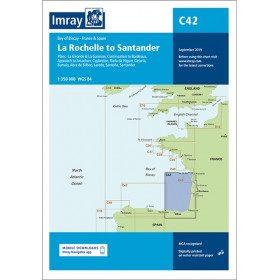 Imray C42 charts La...