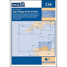 Imray marine chart C34 Cap...