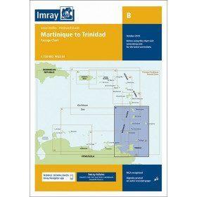 Imray B marine chart from...