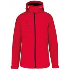 Veste softshell équipage à capuche amovible pour femmes