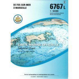 carte 6767 pliée