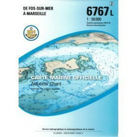 Marine chart 6767 from Fos...