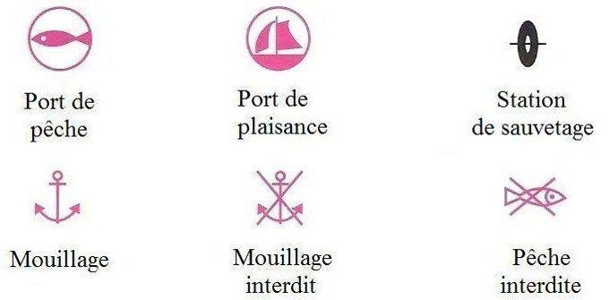 Ports et mouillages