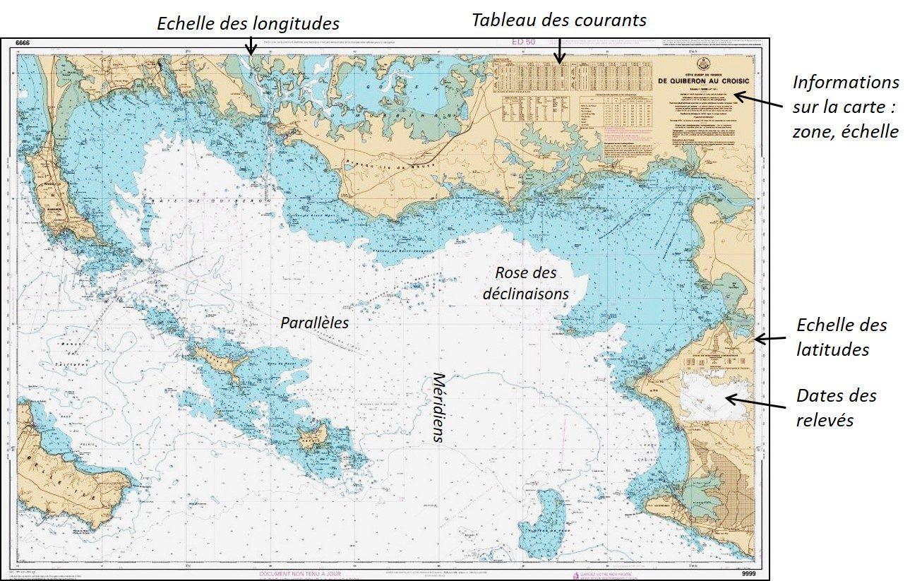 Structure carte marine
