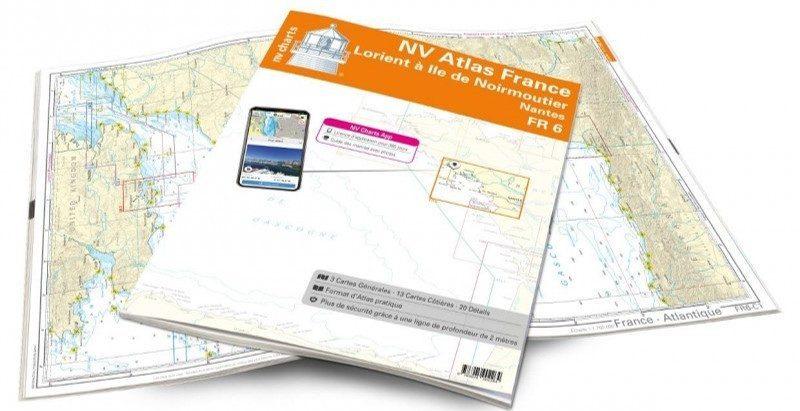 Les cartes NV-Charts sont maintenant disponibles sur picksea.com Picksea - SAS Nauting
