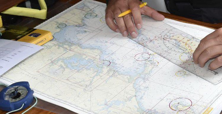Comment déterminer une route en direction et distance ? Picksea - SAS Nauting